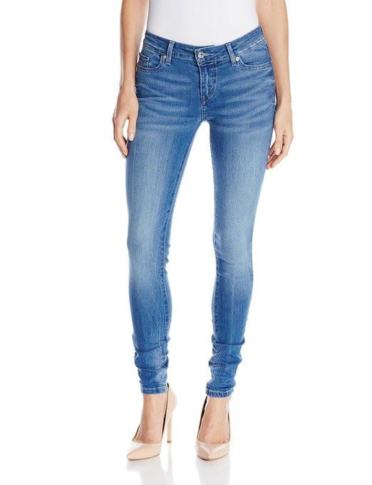 Женские джинсы  Levi's 535 Slim-Fit Skinny Jean Legging Blue Crackle NEW