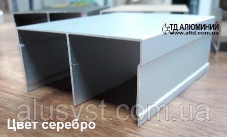 Направляющий профиль для шкафа купе   Верхняя рельса А104