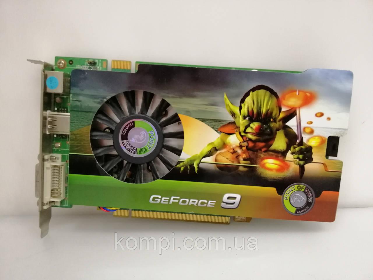 Видеокарта NVIDIA 9600GT 512mb  PCI-E
