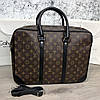 Louis Vuitton Porte-Dociments Voyage PM Monogram Macassar