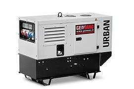 Однофазный дизельный генератор Genmac Urban RG12000KS (12.1 кВт)