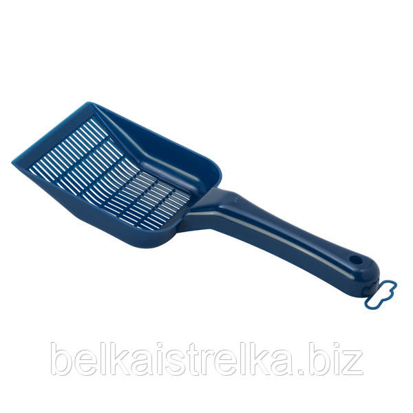Лопатка для наполнителя Moderna Скуппи, пластиковая, 26Х10 см, черничный, C157331