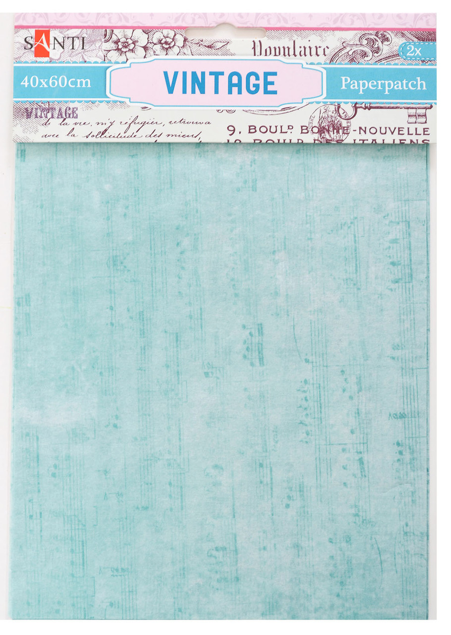 Бумага для декупажа Vintage,2 листа 40*60 см Santi