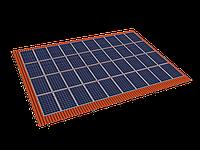 Комплект креплений на черепичную скатную крышу (40 панелей)
