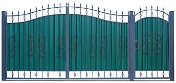 Кованые ворота и калитка  ВД-03, фото 2