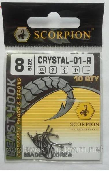 Крючок Scorpion Crystal (black nickel) № 11