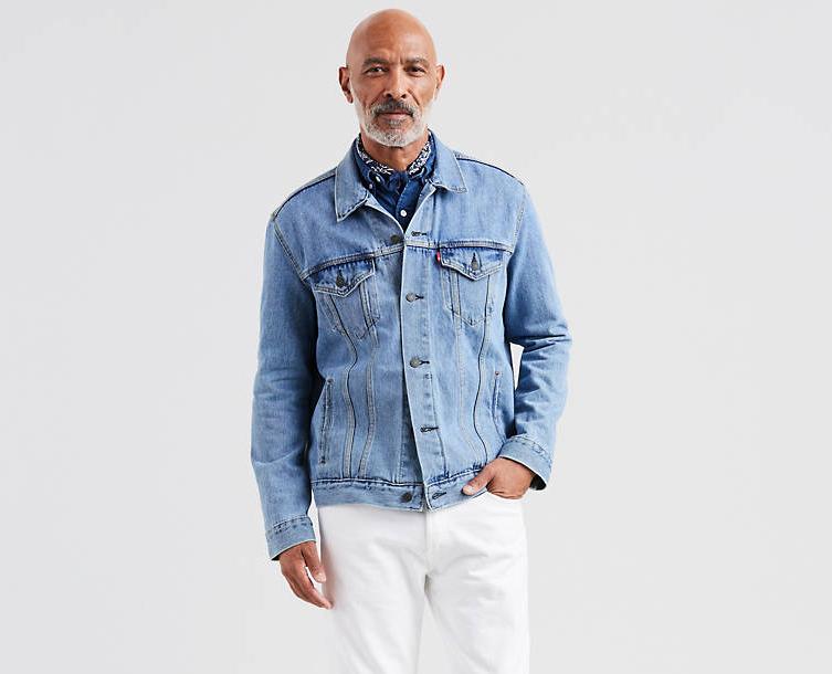 Джинсовая куртка Levis Trucker - Light Stonewash