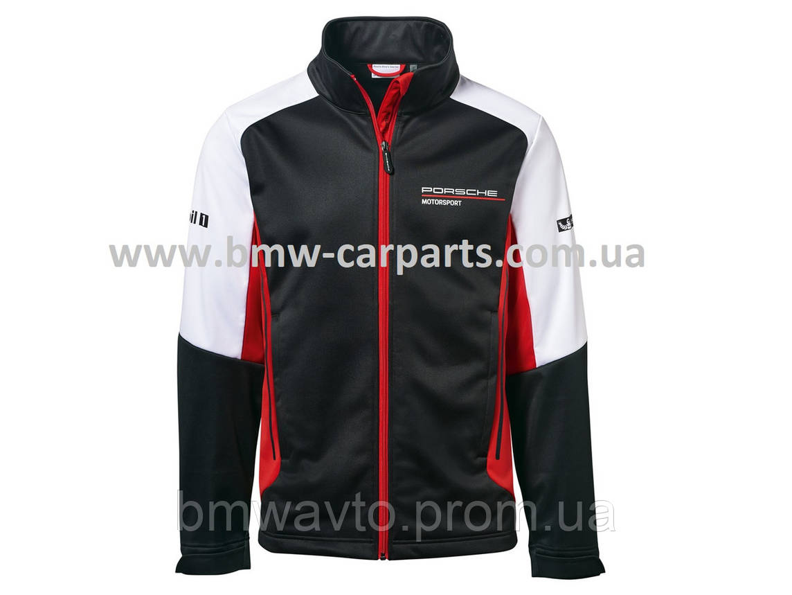 Легкая мужская куртка Porsche Men's Soft Shell Jacket, Motorsport, фото 2