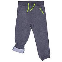Штаны спортивные на флисе для мальчиков 3-14 лет (р. 96-164) ТМ Daniel Hechter Темно-серый DHRH1051-dkgrey