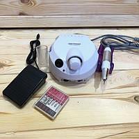 Фрезер для маникюра Nail Drill ZS-601 PRO (белый) , 45 Вт
