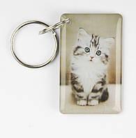 """Заготовка ключа для домофона RFID 5577, """"Полосатый котёнок"""", перезаписываемая, фото 1"""