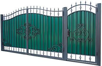 Кованые ворота и калитка  ВД-06, фото 2