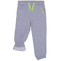 Штаны спортивные на флисе для мальчиков 3-14 лет (р. 96-164) ТМ Daniel Hechter Светло-серый DHRH1051-ltgrey