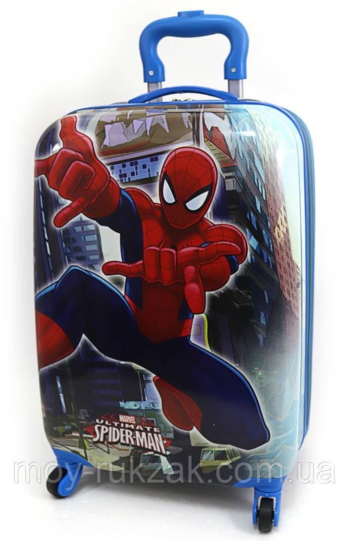 """Детский чемодан дорожный на колесах 18"""" «Человек Паук» Spider Man-6, 520418"""