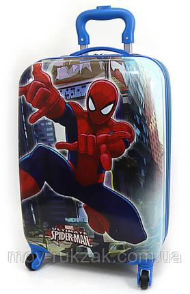 """Детский чемодан дорожный на колесах 18"""" «Человек Паук» Spider Man-6, 520418, фото 2"""