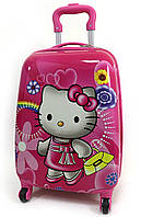 "Детский чемодан дорожный на колесах 16"" «Хелло Китти» Hello Kitty-10, 520429"