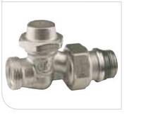 """Проходной отсечной клапан, хром., с резьбовым соед.,с отводами, з герм.прокл. 1/2"""" X18 Giacomini"""