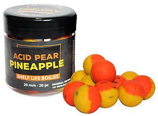 Бойлы вареные насадочные Acid Pear & Pineapple 20,0 мм
