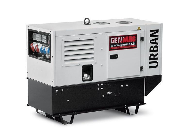 Трехфазный дизельный генератор Genmac Urban G15000YS (11.9 кВт)