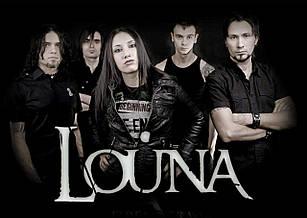 Плакат Louna 01