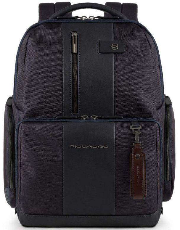 Городской рюкзак Piquadro BRIEF CA4532BR_BLU, 24л, синий