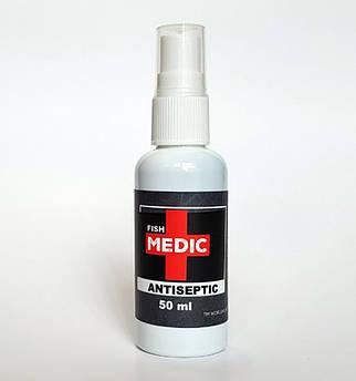 Антибактериальный спрей Antiseptic FISH MEDIC, 50ml