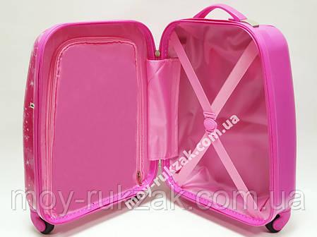 """Детский чемодан дорожный на колесах 16"""" «Барби» Вarbie 4, 520412, фото 2"""