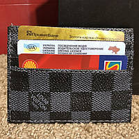 Louis Vuitton Card Holder Double Damier Graphite, фото 1