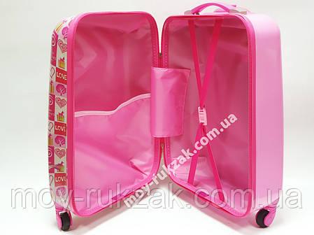 """Детский чемодан дорожный на колесах 18"""" «Микки & Минни», 520417, фото 2"""