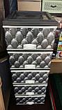 Комод пластиковый элиф диван серый на 5 ящиков, фото 2