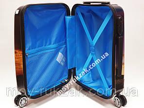 """Детский чемодан дорожный 20"""" «Josef Otten» Трансформер - 7, фотопечать двусторонняя 520432, фото 2"""