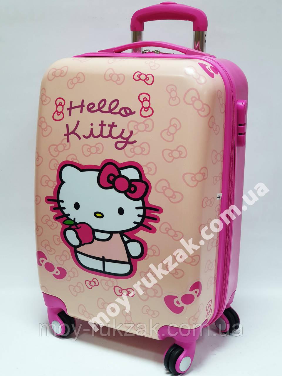 """Детский чемодан дорожный 20"""" «Josef Otten» Хелло Китти - 12, кодовый замок 520434"""