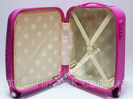 """Детский чемодан дорожный на колесах 18"""" «Анна и Эльза» Frozen-15, кодовый замок, 520436, фото 2"""