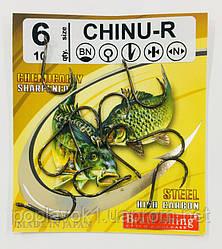 Крючок BratFishing Chinu (black nickel) № 9
