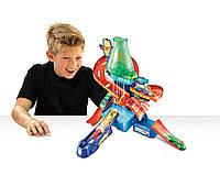 Трек Hot Wheels Научная лаборатория Взрыв цветов серии Измени цвет, , фото 1