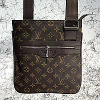 Messenger Louis Vuitton District Pochette Monogram Macassar, фото 1