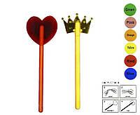 Игровой н-р GH\CW (300шт/2) сердце, корона, светящиеся, 2 микс по 6 цветов, в пакете 28*12см