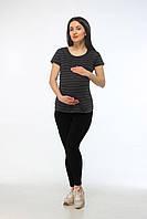 Лосины для беременных Грация черный