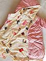 Двухсторонняя демисезонная куртка на девочку Анастасия. Размеры 104- 134, фото 3