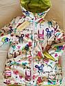 Двухсторонняя демисезонная куртка на девочку Анастасия. Размеры 104- 134, фото 8