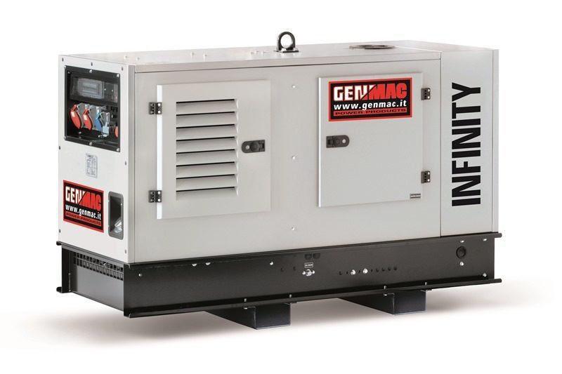 Трехфазный дизельный генератор Genmac Infinity G15KS (13 кВт)