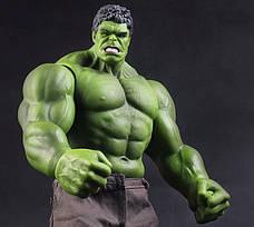 Большая фигурка Халка по вселенной Мстителей, Огромная игрушка Hulk 42 см!!!, фото 3