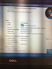 "Ноутбук Dell Latitude 3570 15.6"" i3-6100U SSD 128+500GB HD 2.3GHz 8GB Windows 7 Pro Б/У 2016 год б/у, фото 2"