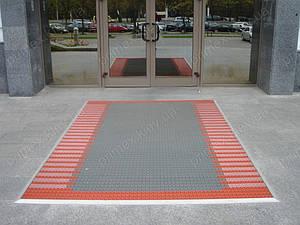 Грязезащитное покрытие на вход в офис, магазин, торговый центр, отель, автосалон