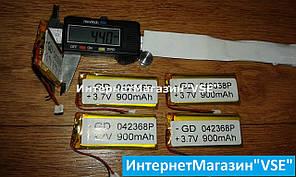 Акумулятор для блютуз гарнітур 41.51-20- 3.81 мм 600 mAh
