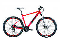 "Горный велосипед 27.5"" Leon XC-80 AM Hydraulic lock out 14G HDD Al 2019 (красно-оранжевый)"