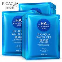 Тканевая маска для лица с гиалуроновой кислотой Bioaqua Water Get Hyaluronic Acid  30 ml