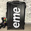 Supreme Rolling Luggage SUP 55 Black