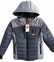 Демисезонная куртка- жилетка для мальчиков и подростков Мачо, фото 1