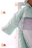 Демисезонный комбинезон - человечек на молнии для новорожденных, фото 3